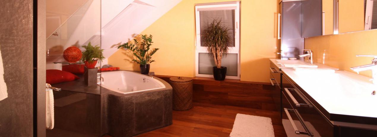 das fugenlose bad von weber raum farbe. Black Bedroom Furniture Sets. Home Design Ideas