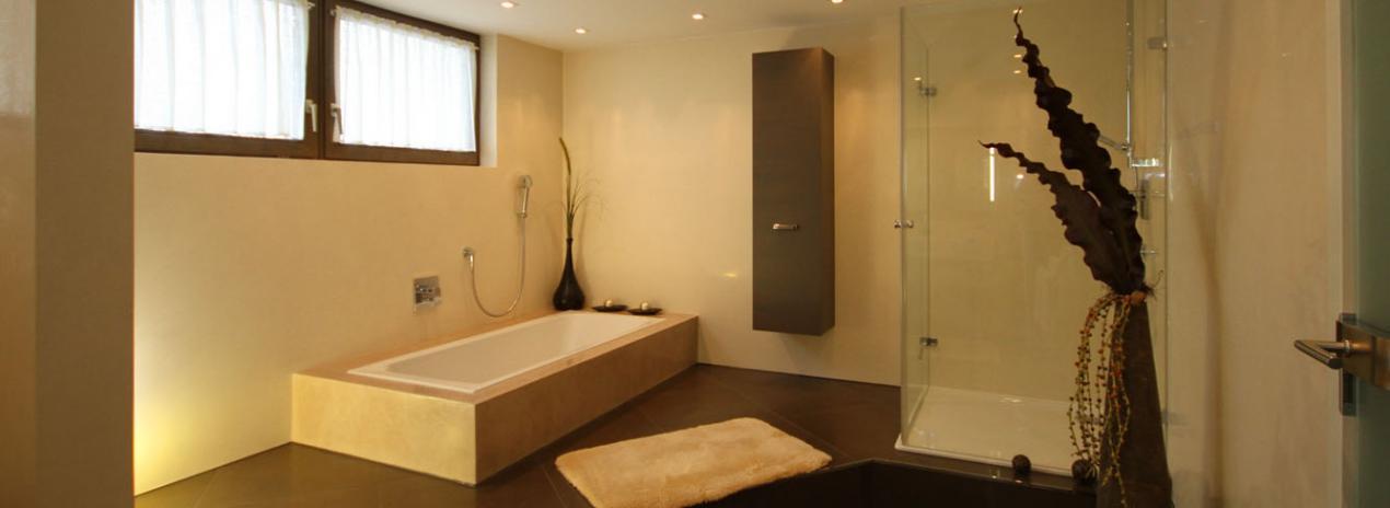 fugenlose bad - Bad ohne Fliesen